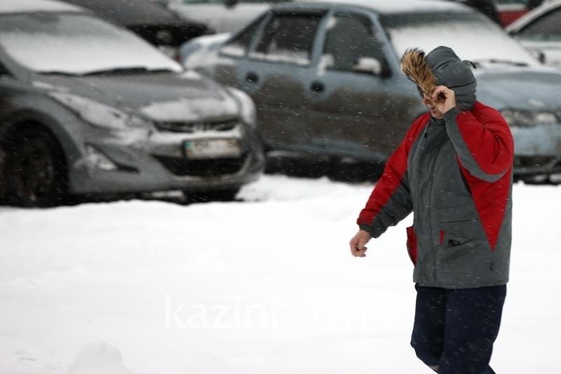 Снегопады и метели ожидаются в Казахстане 9-11 декабря
