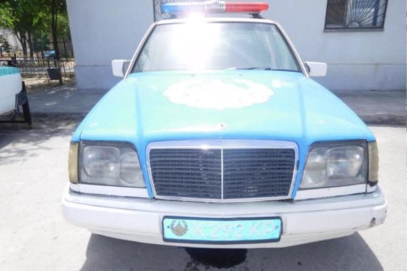 В Шымкенте продаётся полицейский автомобиль