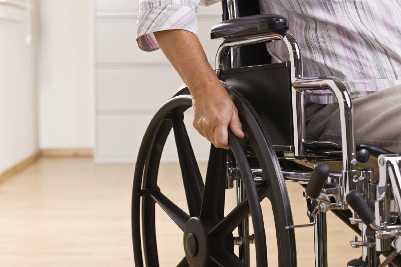 Власти Шымкента подарили коляски 687 инвалидам