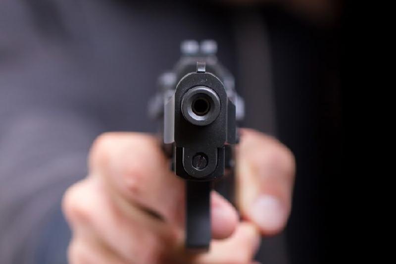 Мылтықпен отбасын жайратып салмақ болған адамды полиция жаралады