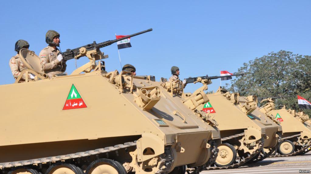 伊拉克组织阅兵庆祝战胜达伊什组织