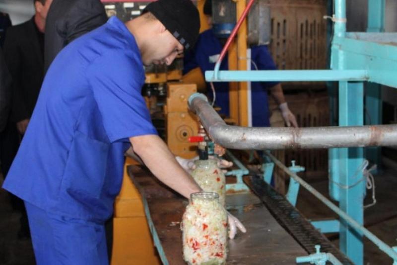 В Южном Казахстане заключенные пекут хлеб и консервируют овощи