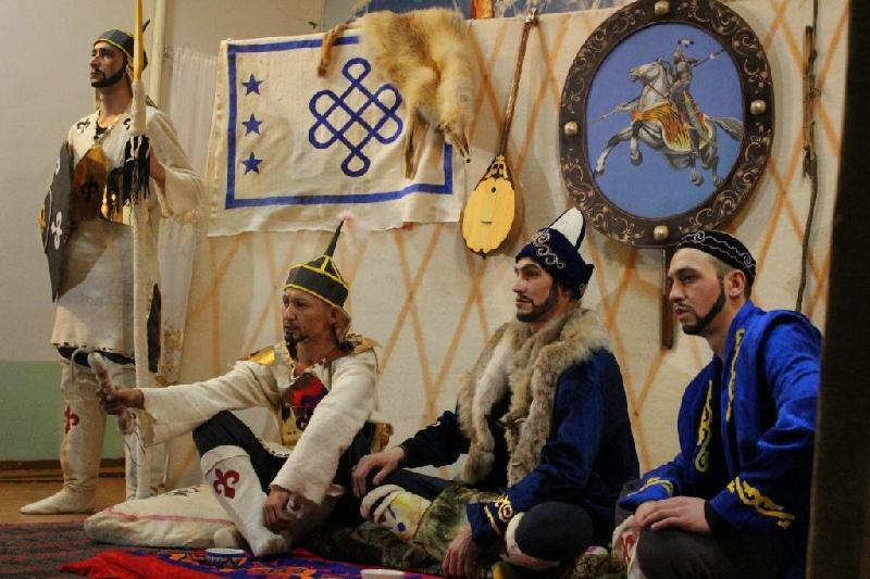 Исторический спектакль поставили осуждённые в Павлодаре