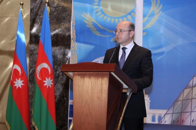 В Баку состоялся официальный прием ко Дню Независимости Казахстана