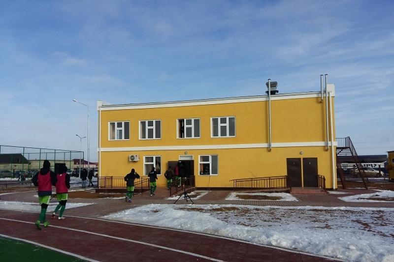 Спортивный комплекс получили жители пригородного поселка Атырау