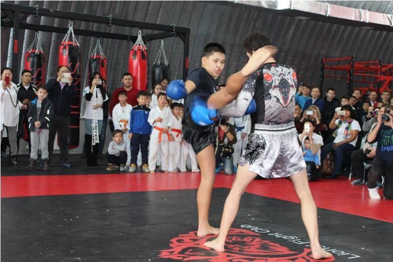 Академию боевых искусств открыли в Актау