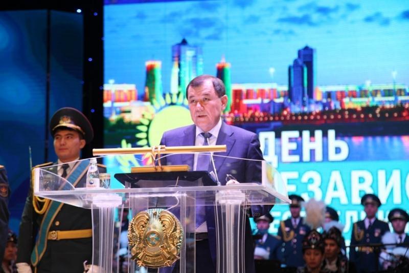 О достижениях Жамбылской области за годы независимости рассказал Карим Кокрекбаев