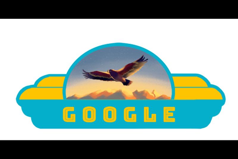 Google поздравил казахстанцев с Днем Независимости