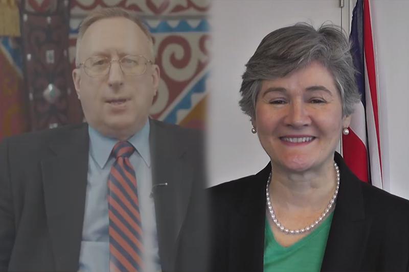 Послы США и Великобритании поздравили казахстанцев на государственном языке