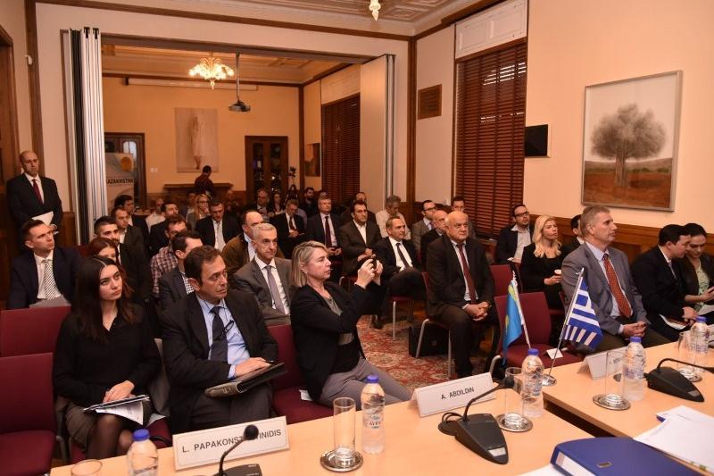 Более 50 греческих компаний собрала конференция в Афинах по сотрудничеству с Казахстаном