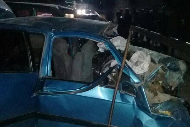 Семь человек погибли на трассе в Кыргызстане