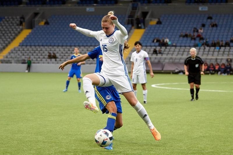 Женская сборная Казахстана по футболу разгромила турецкий клуб со счетом 15:0