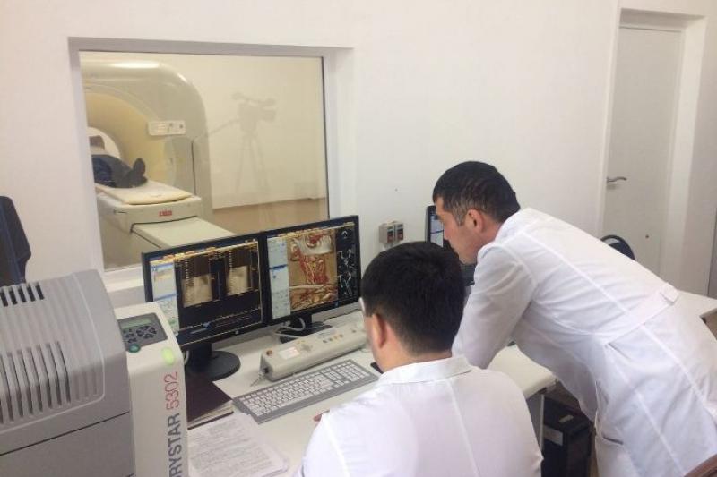 Кабинет компьютерной томографии стоимостью в 400 млн тенге открыли в Атырау