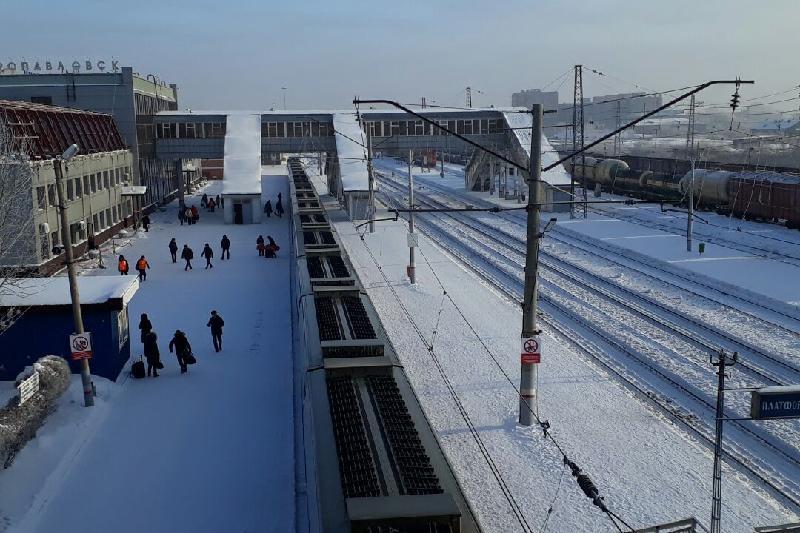 Железнодорожный вокзал реконструируют в Петропавловске