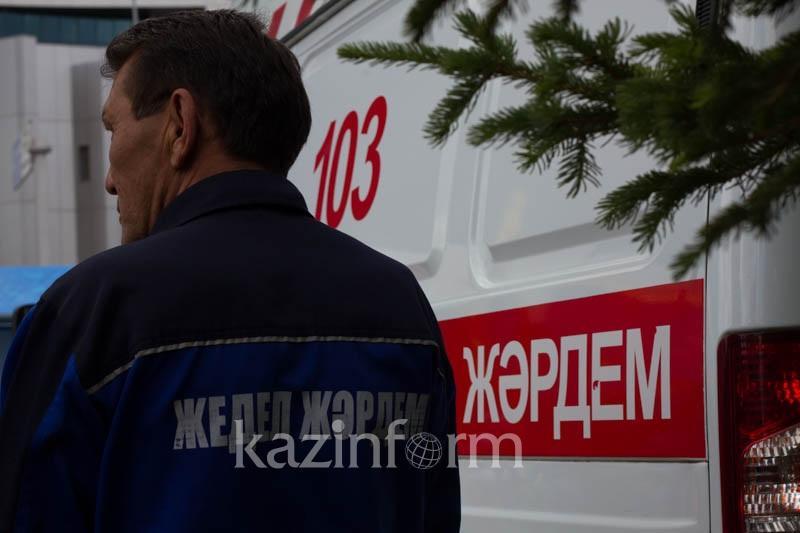 Алматы облысында ер азамат екі баласымен бірге өртеніп кетті