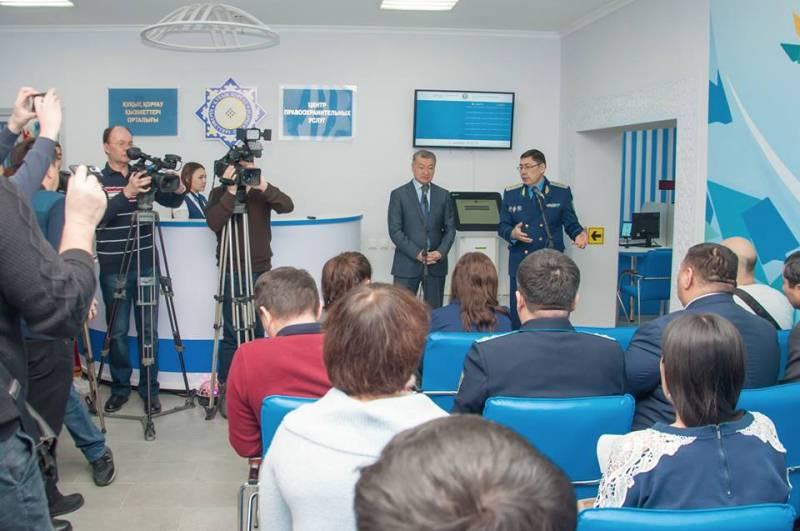 Центр правоохранительных услуг презентовали в Усть-Каменогорске
