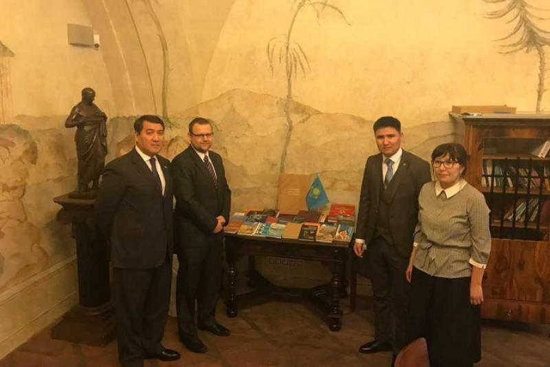 Center of Kazakh literature opens in Prague