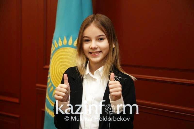 Нурсултан Назарбаев восхитился талантом Данэлии Тулешовой