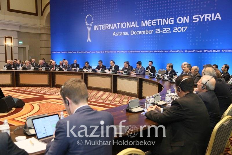 Астана процесінің әр раунды Сирия жеріне тұрақтылықты жақындата түсуде – ҚР СІМ