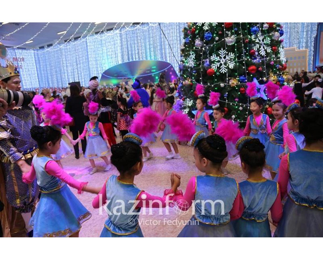 Участникам новогодней елки в Астане приготовили экскурсию на ЭКСПО-2017