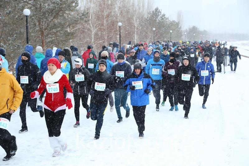 Призеров первого Astana Winter Marathon наградили в столице