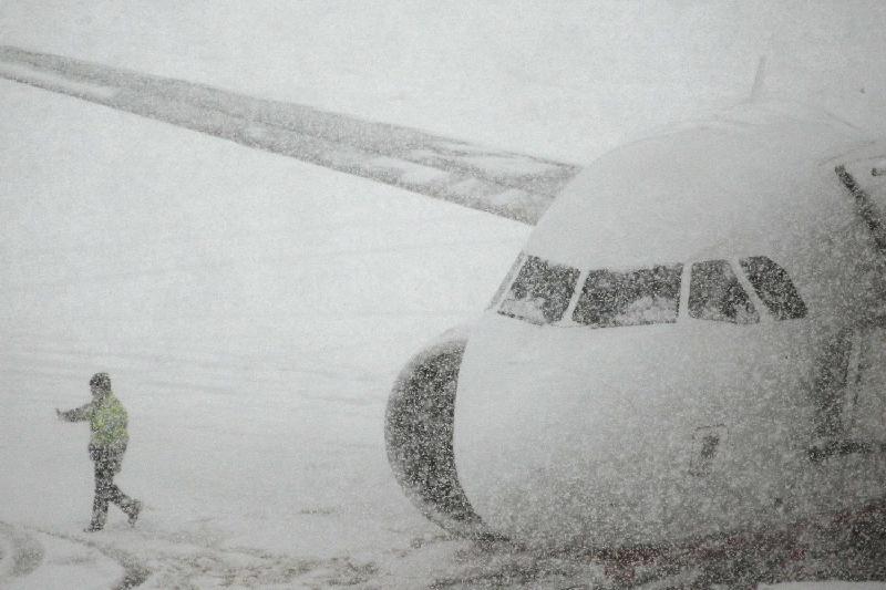 Аэропорт Павлодара закрыт из-за непогоды