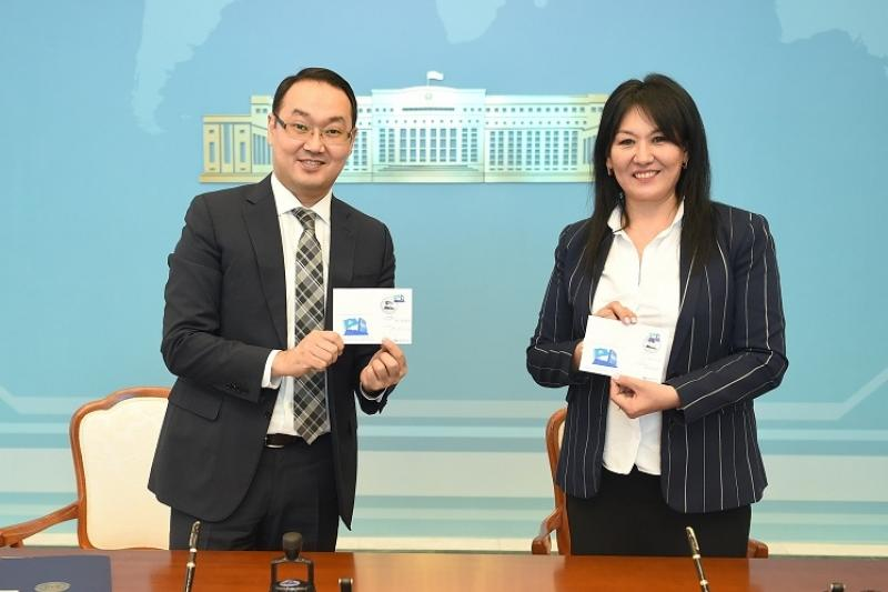 New stamps presented in Astana