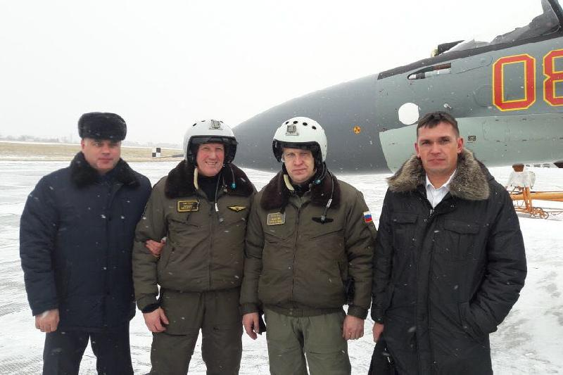Новые истребители Су-30СМ поступили на вооружение ВВС Казахстана