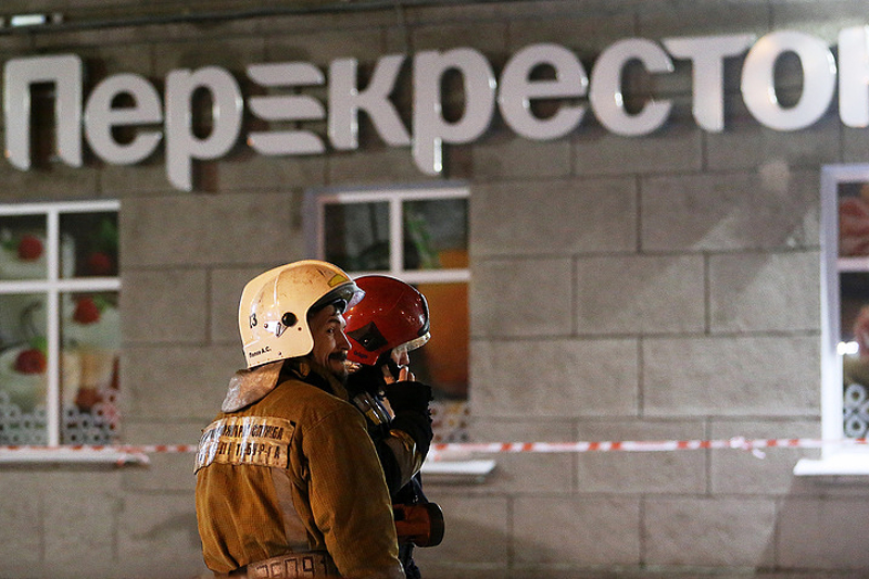 """""""伊斯兰国""""宣称对圣彼得堡超市爆炸案负责"""