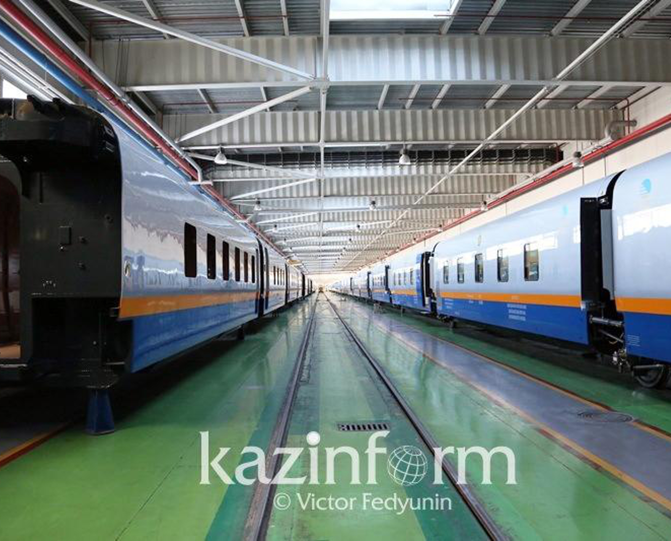 Казахстан выпустит более 600 пассажирских вагонов до 2023 года