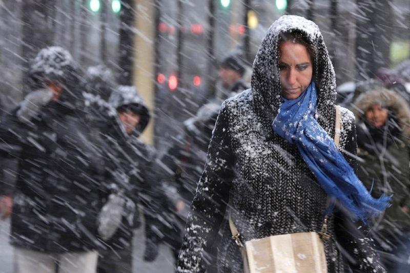 Снегопады ожидаются в понедельник в Казахстане