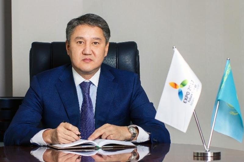 叶尔波勒•硕尔玛诺夫出任阿斯塔纳世博会运营公司执行主席
