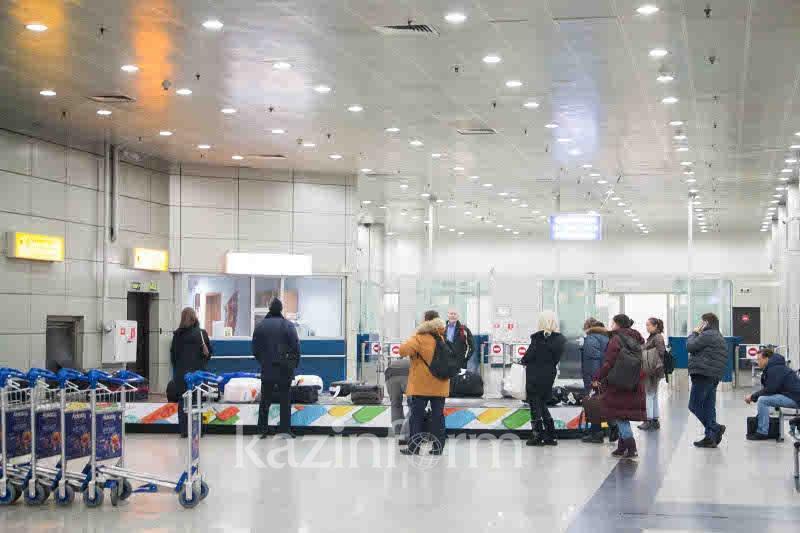 Алматы әуежайында 11 рейс бөгелді