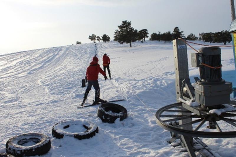 Из-за нехватки снега не могут открыть горнолыжную базу в Баянауле