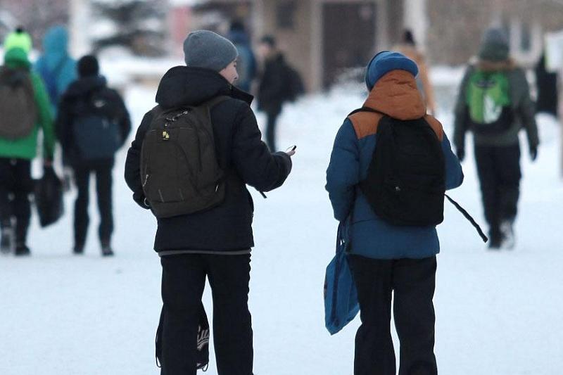 Из-за погоды были отменены занятия в 11 районах Акмолинской области