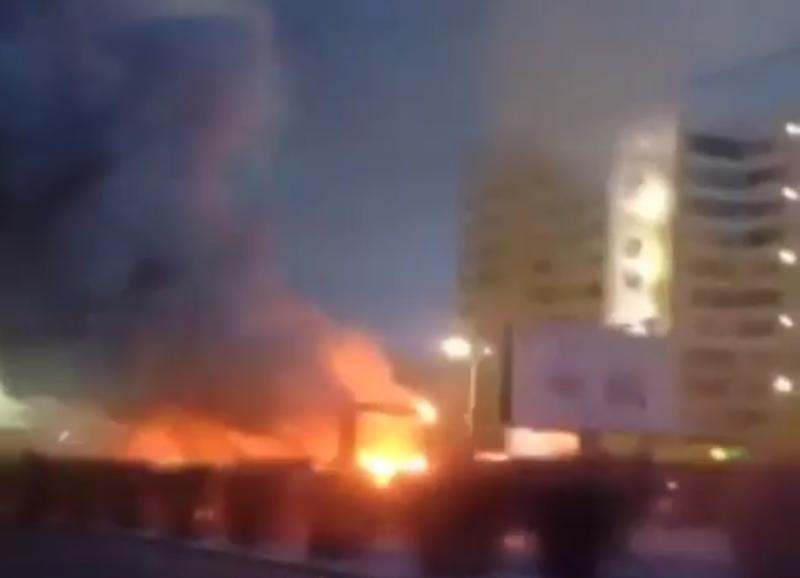 Озвучены две версии возгорания трамвая в Павлодаре