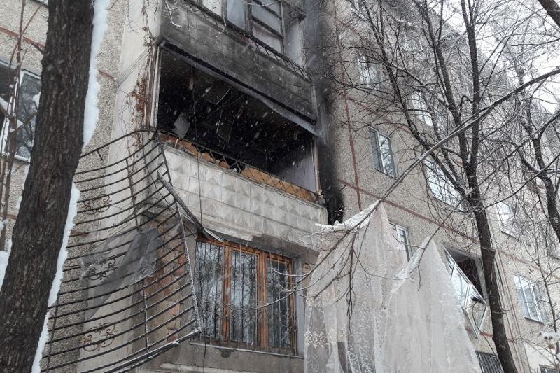 Алматыдағы пәтерде жарылыс болды