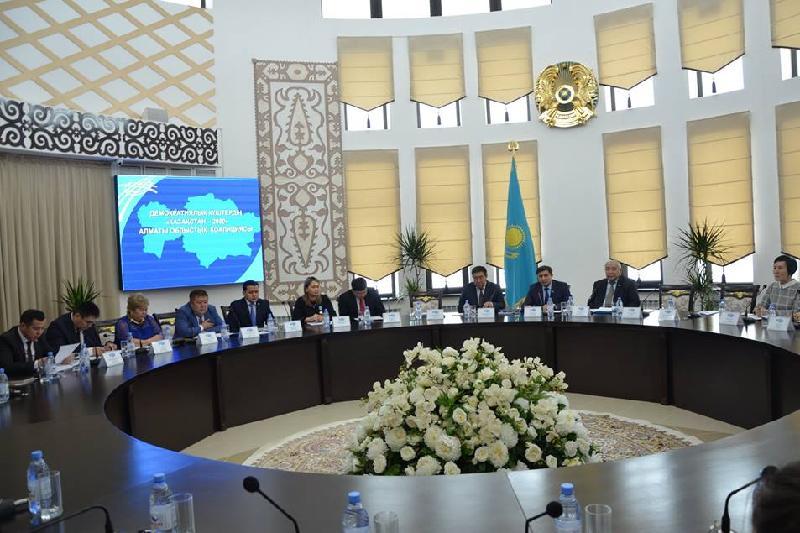 Алматы облыстық коалициясы Елбасы Жолдауын талқылады