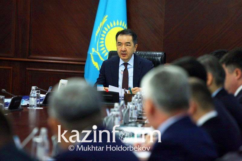 Бакытжан Сагинтаев жестко высказался о докладе министра нацэкономики