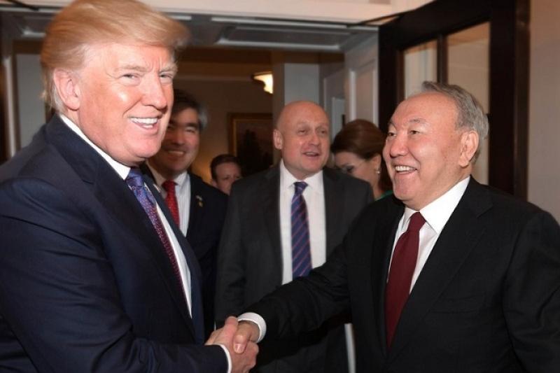 Нурсултан Назарбаев: Казахстан считает США надежным партнером