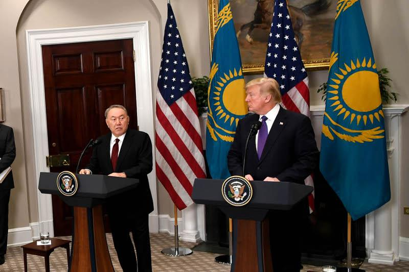 North Korean problem can be solved by joint efforts of U.S., China and Russia - Nazarbayev