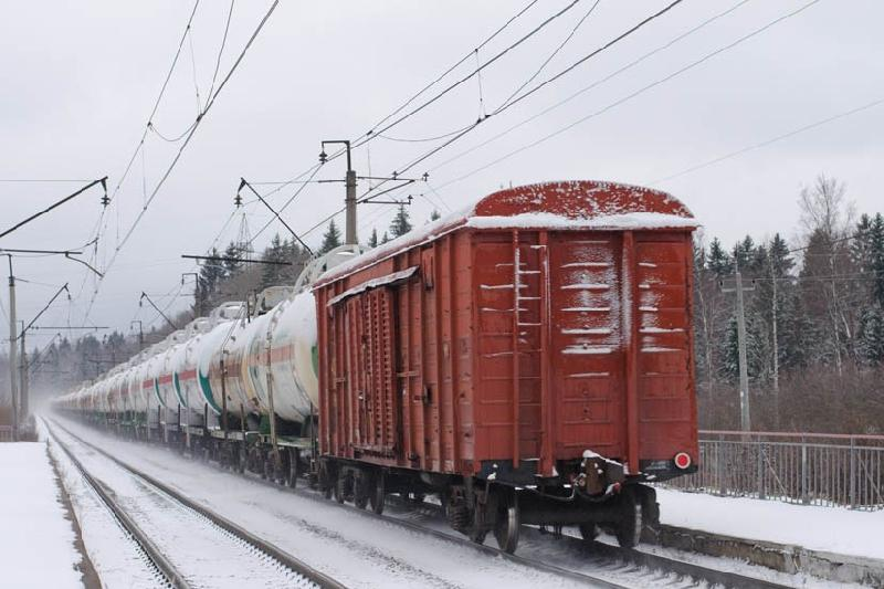 2017年哈中边境阿勒腾阔勒车站过货量达150万吨