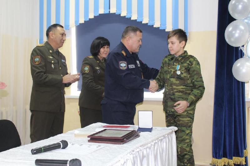 Алматы облысының 13 жасар тұрғыны ерлігі үшін марапатталды