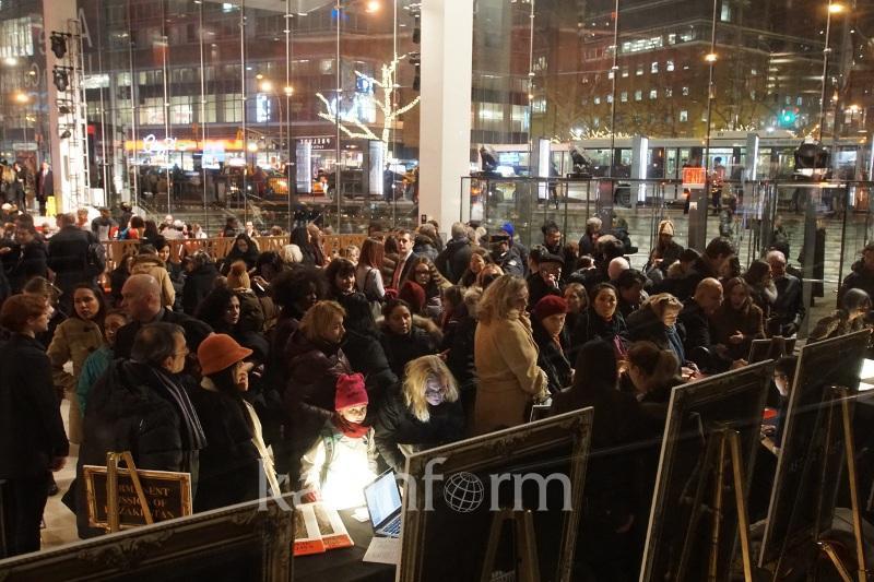 «Астана Балеттің» Нью-Йоркте өнер көрсетуі: Халық залға сыймай қалды