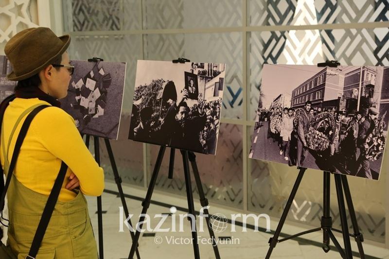 Фотовыставка «Черный январь» - путь к Независимости» прошла в посольстве Азербайджана
