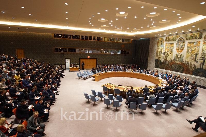 Нұрсұлтан Назарбаевтың төрағалығымен БҰҰ Қауіпсіздік Кеңесінің отырысы басталды