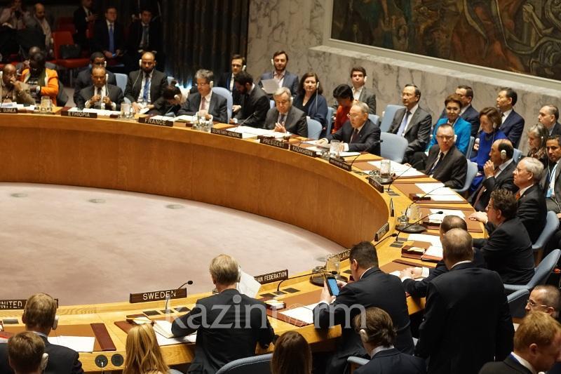 Особая роль в достижении более справедливого мирового порядка принадлежит Совбезу ООН - Президент РК