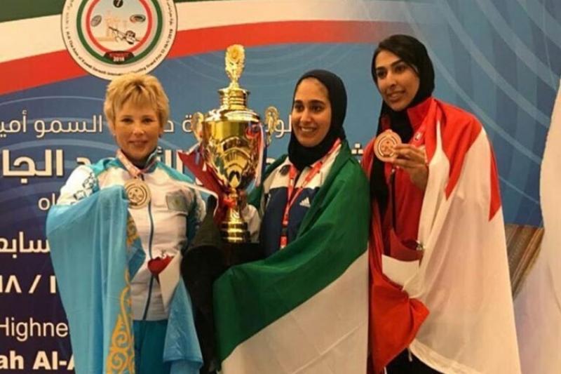 Женщина-стрелок из ЮКО завоевала серебро на соревнованиях в Кувейте