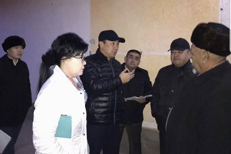 Встречи городской администрации с населением  проходят в Шымкенте