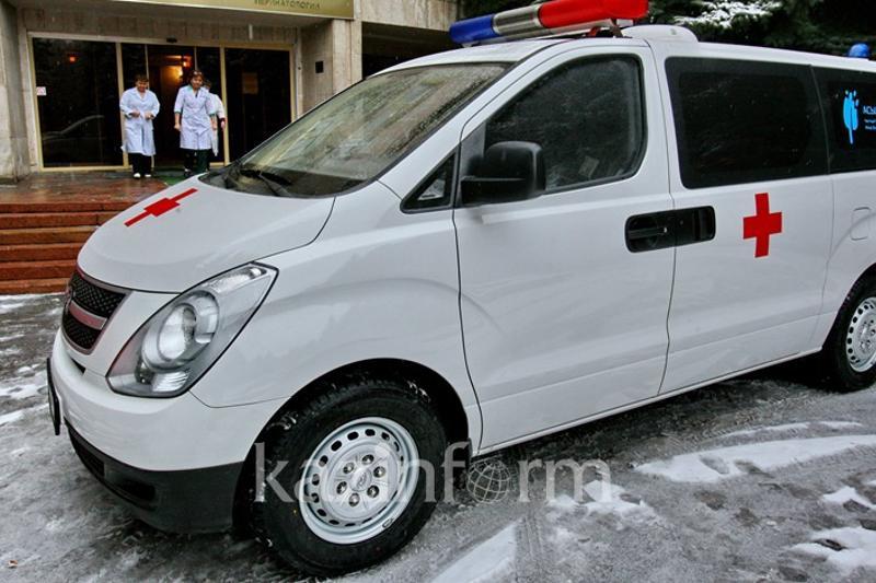 В ДТП с патрульной машиной на трассе Астана-Петропавловск погиб человек